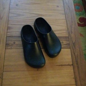 Birkenstock Men's Profi-Birki Black Clogs Sz 11